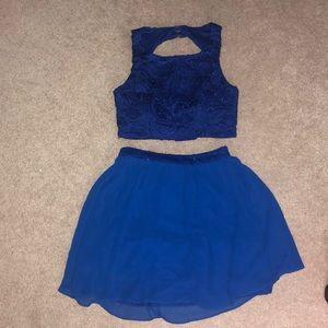 2 Piece Matching Set Dress